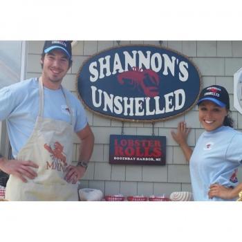 shannons unshelled, mutt scrub, boothbay harbor