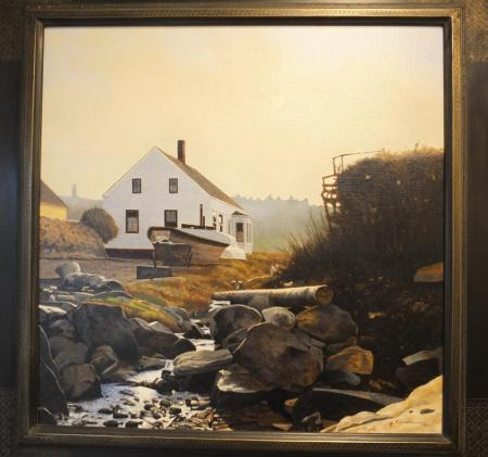 """Morning Fog, Trefethan House"" Peter Sculthorpe"