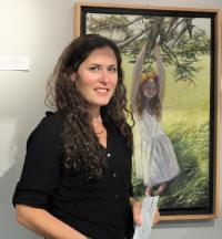 South Thomaston artist Jamie Wiggins